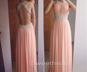 prom dress, dress, and Prom image