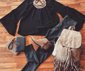 accessories, bags, and boots image