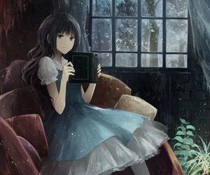 anime, illustration, and pretty image