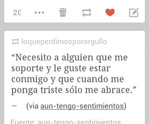 triste, tumblr, and soportar image