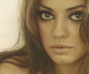 Mila Kunis, hair, and photography image