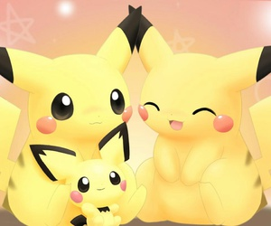 pikachu, pokemon, and family image