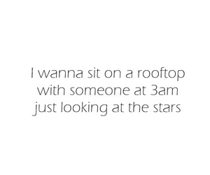 stars, quote, and rooftop image