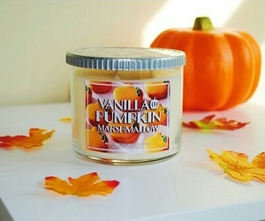 fall, candle, and autumn image