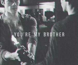 teen wolf, brothers, and stiles image