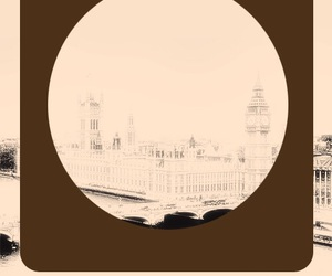 background, beige, and london image