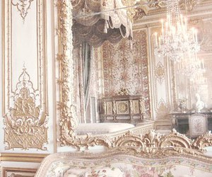 palace, vintage, and interior image