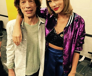 Taylor Swift, mick jagger, and 1989 tour image