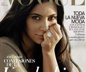 cover, espana, and kim kardashian image