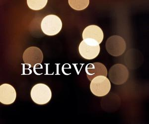 believe, lights, and hope image