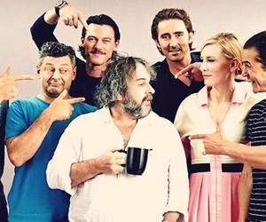 lee pace, andy serkis, and benedict cumberbatch image