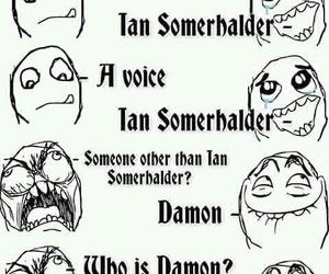damon, ian somerhalder, and the vampire diaries image