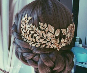 hairstyles, wedding, and wedding hair image