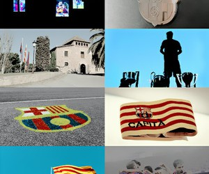 Barca, football, and support image