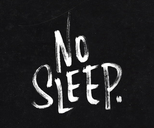 sleep, black, and quotes image