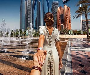 abu dhabi, travel, and style image