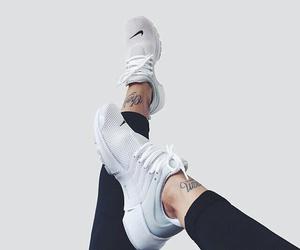 nike, shoes, and tattoo image