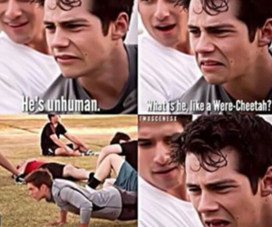 teen wolf, funny, and scott image