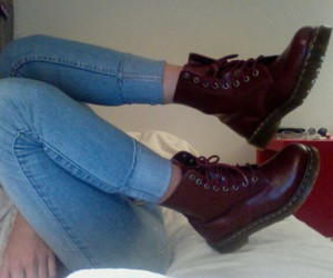 shoes, grunge, and jeans image