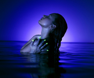 demi lovato, demi, and neon lights image