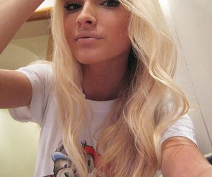 blonde, model, and alena shishkova image