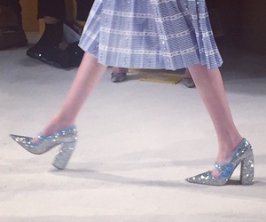 glitter, miu miu, and shoes image