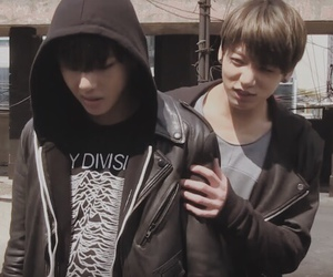 best friends, v, and bangtan boys image