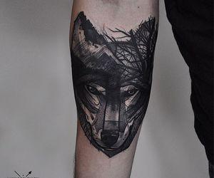 beautiful, ink, and tatt image