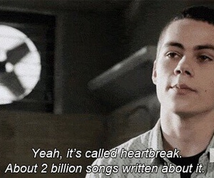 teen wolf, heartbreak, and quotes image