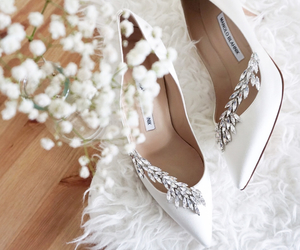flowers, shoes, and style image
