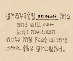 coldplay, floating, and gravity image