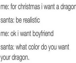 boyfriend, christmas, and funny image
