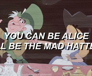 mad hatter, melanie martinez, and alice image