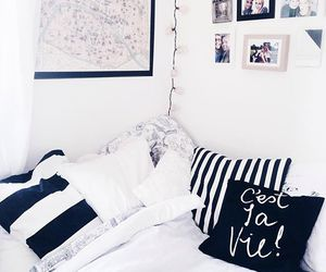 bedroom, cool, and house image