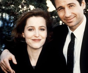 dana scully, fox mulder, and david duchovny image