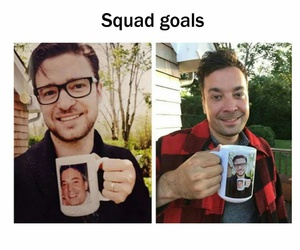 goal, justin timberlake, and squad image