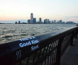 kiss, love, and city image