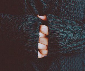 autumn, hands, and sweater image