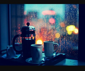 coffee, tea, and window image
