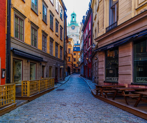 city, europe, and stockholm image