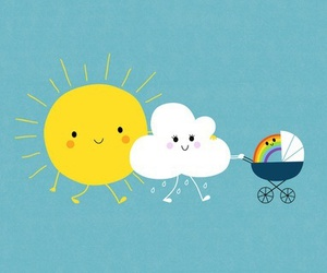 ⛅️☔️Even when it rains there is a little sunshine!☔️☀️