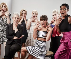 scream queens, emma roberts, and abigail breslin image