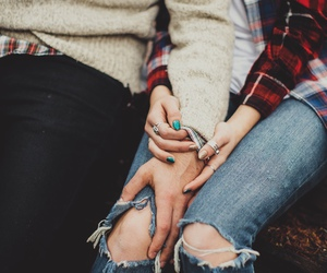boyfriend, hands, and couple image