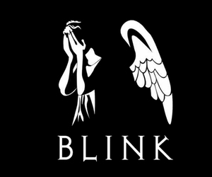 wallpaper and don't blink image