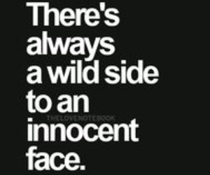 quote, wild, and innocent image