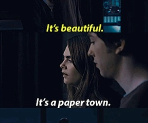 paper towns, movie, and paper town image