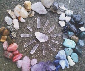 crystal, stone, and grunge image