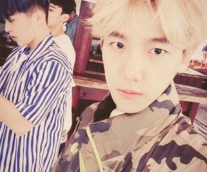 baekhyun, exo, and xiumin image