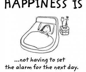 alarm, truth, and happiness image
