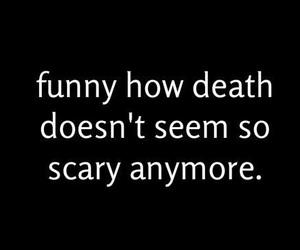 death, sad, and depression image
